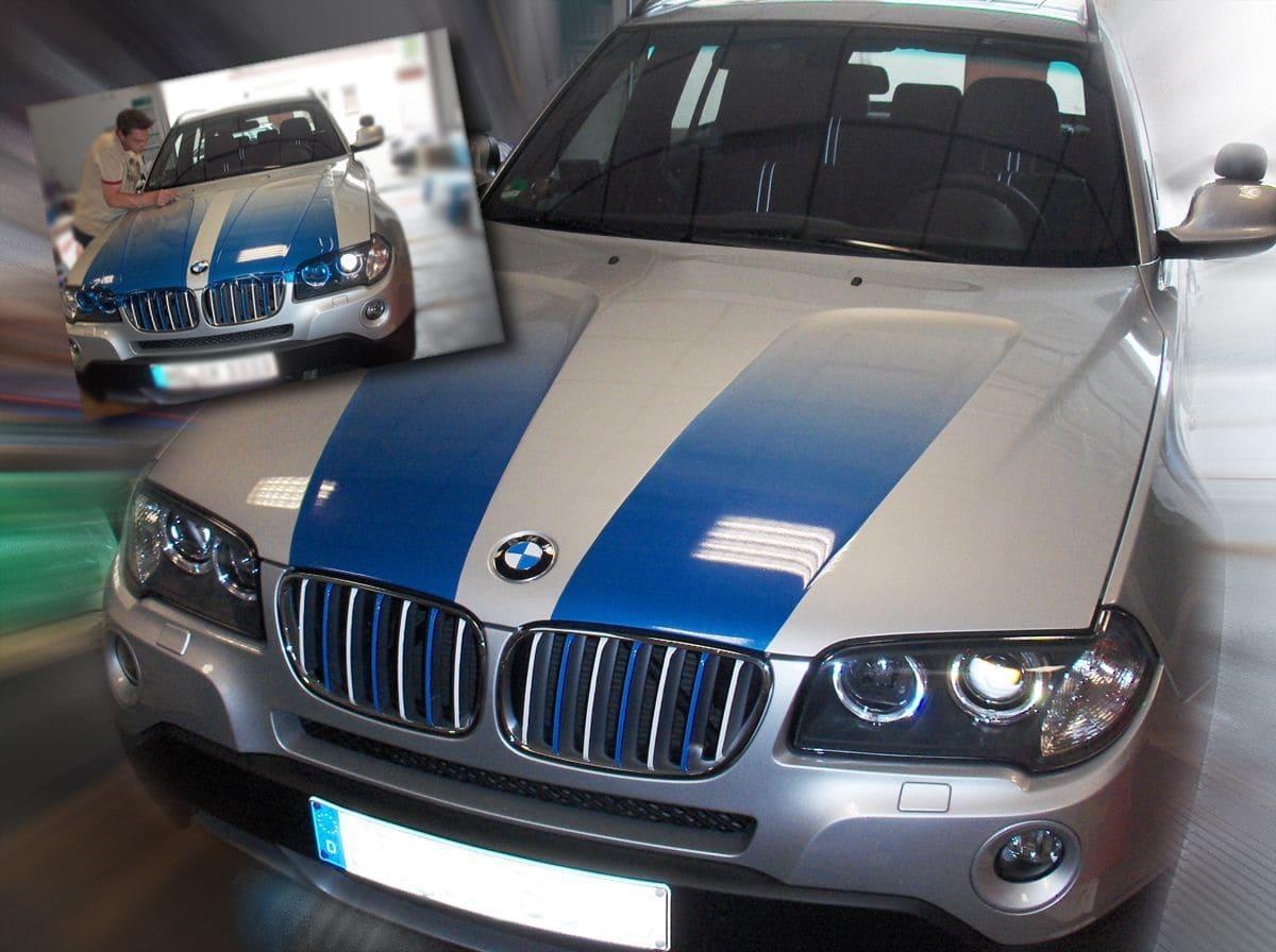 BMW X3 - Teilverklebung